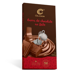 Cia Barra Chocolate Leite - 100g