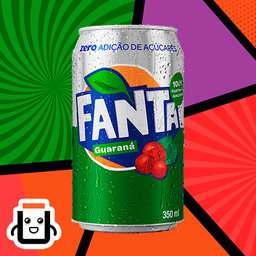Guaraná Fanta Zero 350ml