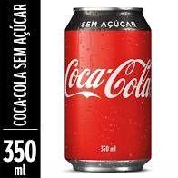 Coca-cola Sabor sem Açúcar Lata