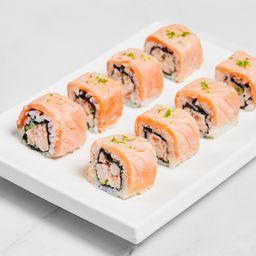 Uramaki de camarão
