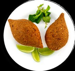 Kibe Vegetariano Recheado com Coalhada