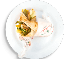 Sanduíche de Shawarma de Carne