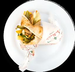 Sanduíche de Shawarma de Cordeiro