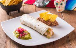 Taco Sinaloense Vegetariano
