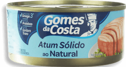 Atum Sólido Light Gomes Da Costa Lata 120g