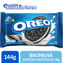 Oreo Biscoito Recheado Baunilha