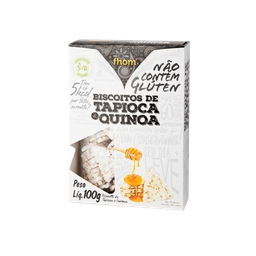 Biscoito Tapioca Fhom Quinoa 100 g