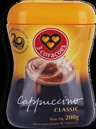 Café Capuccino 3 Corações Classic 200g