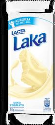 Chocolate Branco Laka Lacta Tablete 90 g