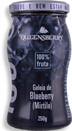 Geleia Queensberry 100% Blueberry