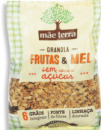 Granola Mãe Terra Frutas Mel Sem Açúcar 250 g
