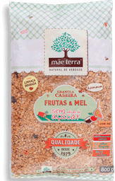 Granola Maeterra Frutas Mel S Acucar