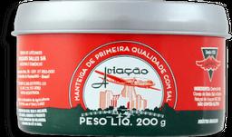 Manteiga Com Sal Aviação Lata 200g