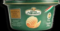 Manteiga Gran Mestri Com Sal Lata 200 g