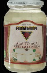 Palmito Açaí Inteiro Hemmer Vidro 300g