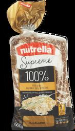 Pão de Forma Nutrella Supreme 100% Integral 600 g