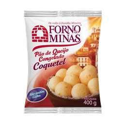 Pão De Queijo Forno De Minas Congelado Coquetel 400 g