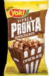 Pipoca Pronta Sabor Chocolate Yoki 100g