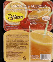 Demarchi Polpa Fruta Acerola Com Laranja