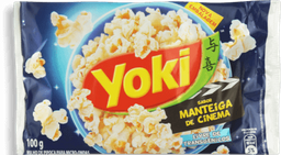 Pipoca Para Microondas Manteiga De Cinema Yoki 100g