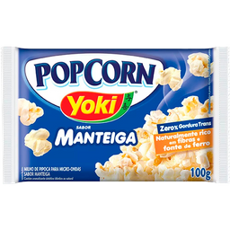 Pop Corn Yoki Manteiga 100g