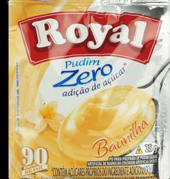 Pudim Zero Adição de Açúcar Royal Baunilha  25g