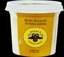 Queijo Mussarela de Búfala Cerejinha Almeida Prado Pote 200 g