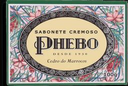 Sabonete Phebo Mediterrâneo Cedro De Marrocos 100 g
