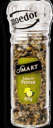 Tempero Smart Lemon Pepper Spice Com Moedor 65g