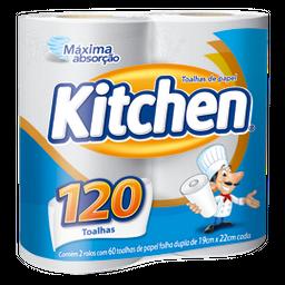 Toalha De Papel Branca Kitchen Com 2 U