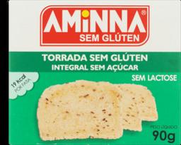 Torrada Aminna Integral S Acucar 90g