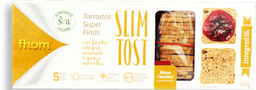 Torrada Fhom Slim Tost Integral 110g