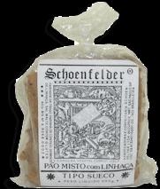 Pão Shoenfelder  Misto com Linhaça 200 g