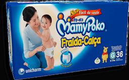 Fralda-Calça Mamypoko Tamanho G 36 Unidades