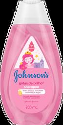 Shampoo Johnsons Baby Gotas De Brilho 200 mL