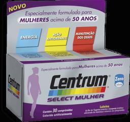 Complexo Vitamínico Select Mulher Centrum 30 Comprimidos