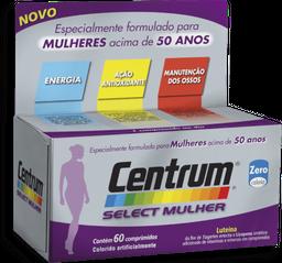 Complexo Vitamínico Select Mulher Centrum 60 Comprimidos