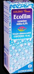 Colírio Ecofilm 0,5% 15 mL