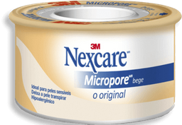 Esparadrapo Micropore Nexcare 3M Bege 25Mmx4,5M