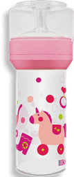 Mamadeira Lillo Super Divertida Rosa 260 mL