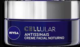 Creme Facial Nivea Cellular Noturno Antissinais 51 g