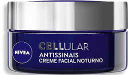 Creme Facial Nivea Cellular Noturno Antissinais 51 g
