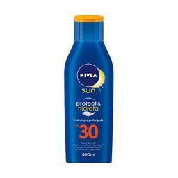 Protetor Solar NIVEA SUN Protect & Hidrata FPS30 400ml