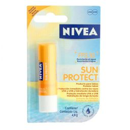 Protetor Labial Nivea Sun Protect FPS30 4,8g
