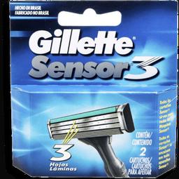 Carga para Aparelho de Barbear Gillette Sensor3 com 2 U