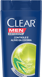 Shampoo Clear Men Anti Caspa Controle Coceira Diária 200 mL
