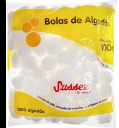 Algodão Sussex Bolas Branco 100 g