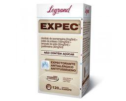 Expec 2 + 100 + 20 + 30 Mg / Xarope Frasco