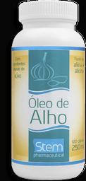 Óleo De Alho 250 Mg Stem 120 Cápsulas