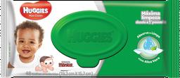 Toalhas Umedecidas Huggies Classic 48 U
